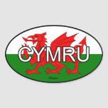 Wales CYMRU Euro Sticker