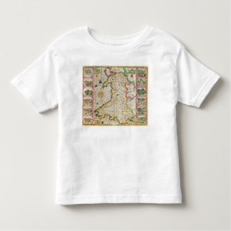 Wales, engraved by Jodocus Hondius Toddler T-Shirt