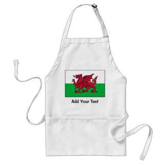 Wales Flag Aprons