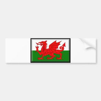 Wales Flag Bumper Sticker