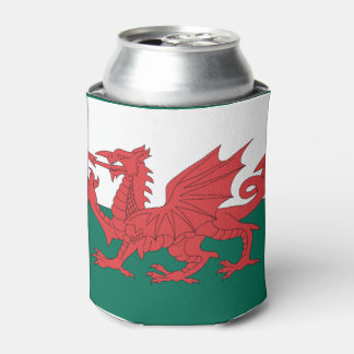 Wales Flag Can Cooler