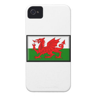 Wales Flag iPhone 4 Case-Mate Cases
