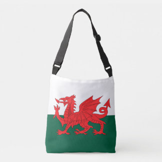 Wales Flag Crossbody Bag