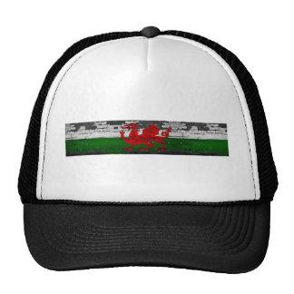 Wales Flag Distressed Cap