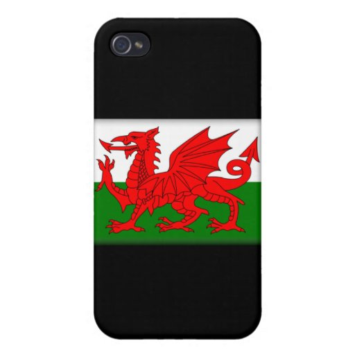 Wales Flag  iPhone 4/4S Covers