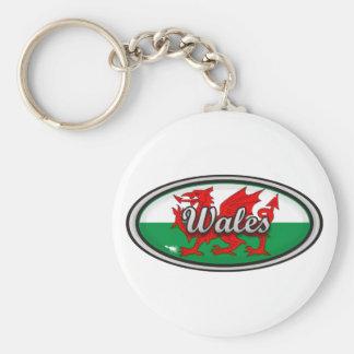 Wales Flag Key Chains