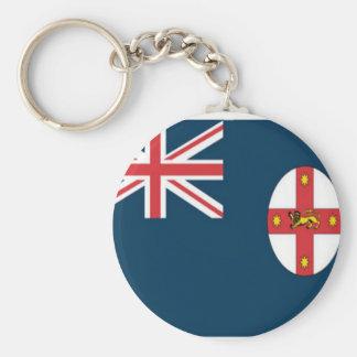 Wales flag keychains