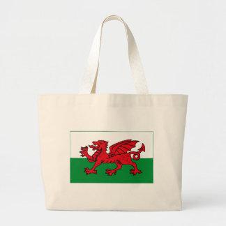 Wales Flag (light) Tote Bag