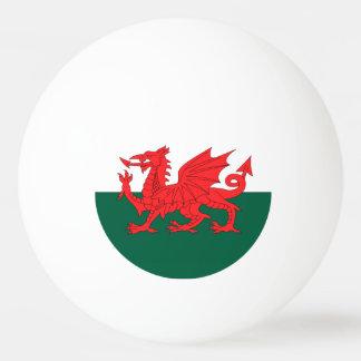 Wales Flag Ping Pong Ball