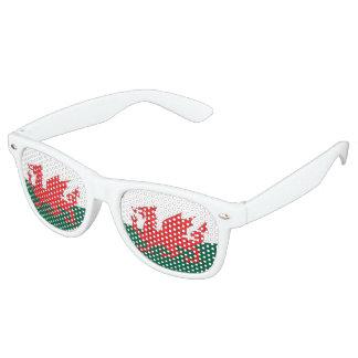 Wales Flag Retro Sunglasses