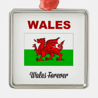 Wales Forever Christmas Ornament