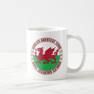 Wales Greatest Team Basic White Mug