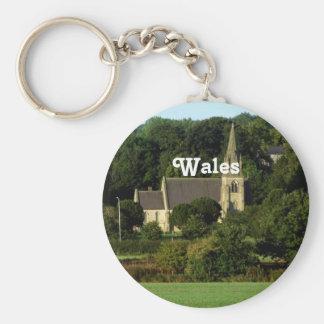Wales Keychain