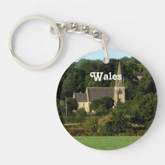 Wales Acrylic Keychains