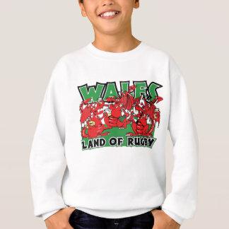 Wales Land of Rugby Sweatshirt