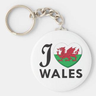 Wales Love Keychains