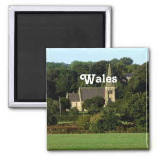Wales Refrigerator Magnet