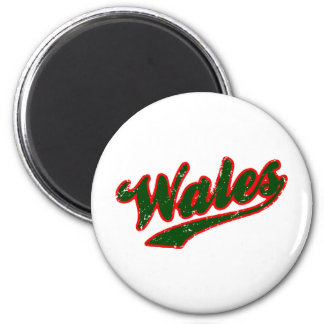 Wales Refrigerator Magnets