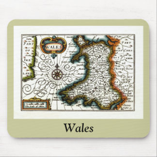 Wales Map and/or Flag Mouse Mat