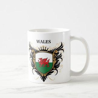 Wales [personalise] basic white mug