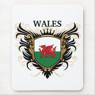 Wales [personalise] mouse mats