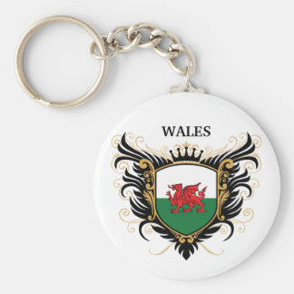 Wales personalize keychains
