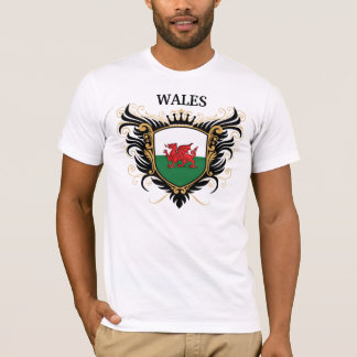 Wales [personalize] T-Shirt