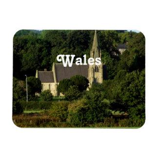 Wales Rectangular Photo Magnet