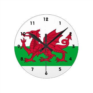 wales round clock