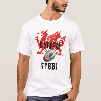 Wales Rugby T SHirt
