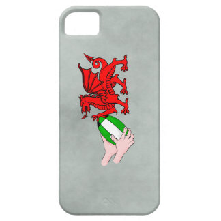 Wales Rugby Team  Dragon With Rugby Ball iPhone 5 Covers