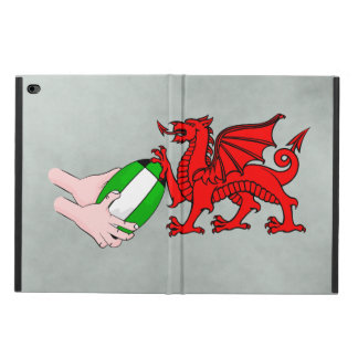 Wales Rugby Team  Dragon With Rugby Ball Powis iPad Air 2 Case