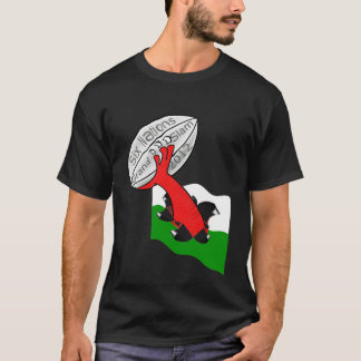 Wales six nations grand slam 2012 T-Shirt