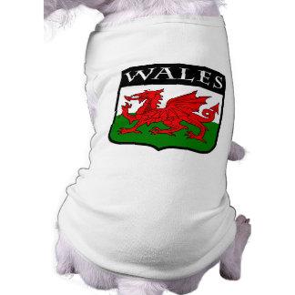 Wales Sleeveless Dog Shirt