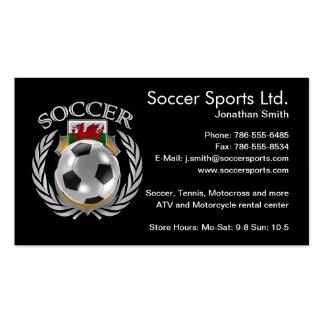 Wales Soccer 2016 Fan Gear Pack Of Standard Business Cards