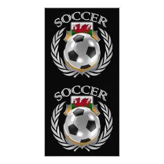 Wales Soccer 2016 Fan Gear Personalised Photo Card