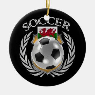 Wales Soccer 2016 Fan Gear Round Ceramic Decoration
