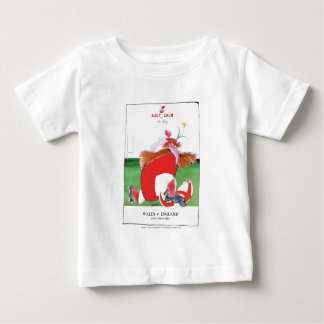 wales v england balls - from tony fernandes baby T-Shirt