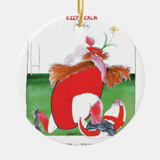wales v england balls - from tony fernandes round ceramic decoration
