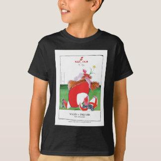wales v england balls - from tony fernandes T-Shirt