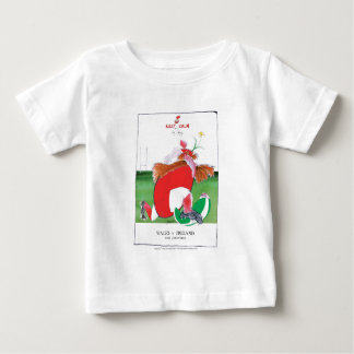wales v ireland rugby balls by tony fernandes baby T-Shirt