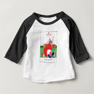 wales v scotland balls - from tony fernandes baby T-Shirt