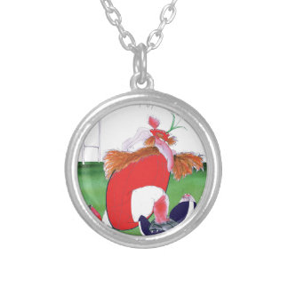wales v scotland balls - from tony fernandes silver plated necklace