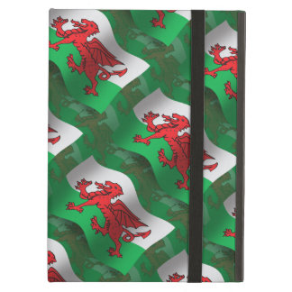 Wales Waving Flag Cover For iPad Air
