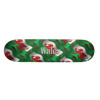 Wales Waving Flag Skate Board Decks