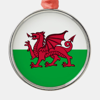Wales -Welsh Flag Christmas Ornament