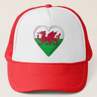 Wales Welsh flag cymru dragon Trucker Hat