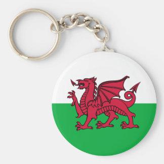 Wales -Welsh Flag Keychain