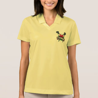 Wales Welsh Lacrosse Polo T-shirts