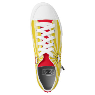 Walk a Mile for a Taco Printed Shoes